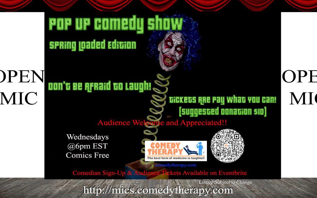 Pop Up Comedy Show