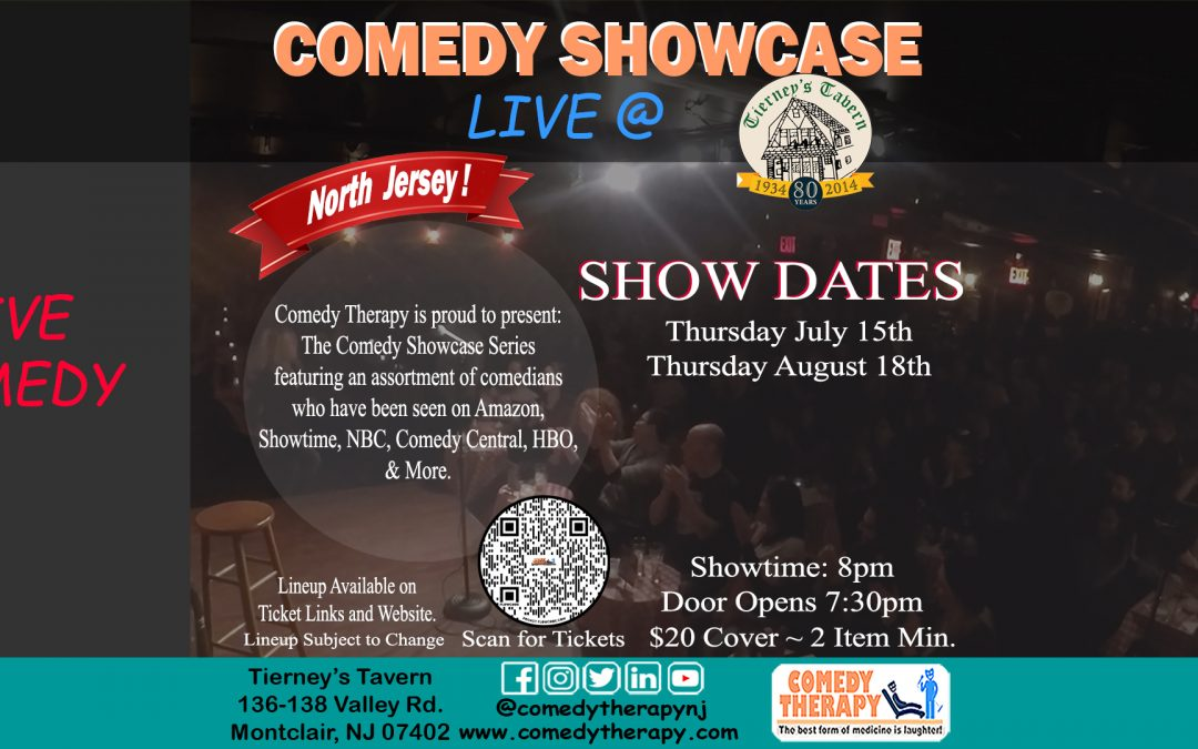Northern Jersey Comedy Showcase – Tierney's Tavern