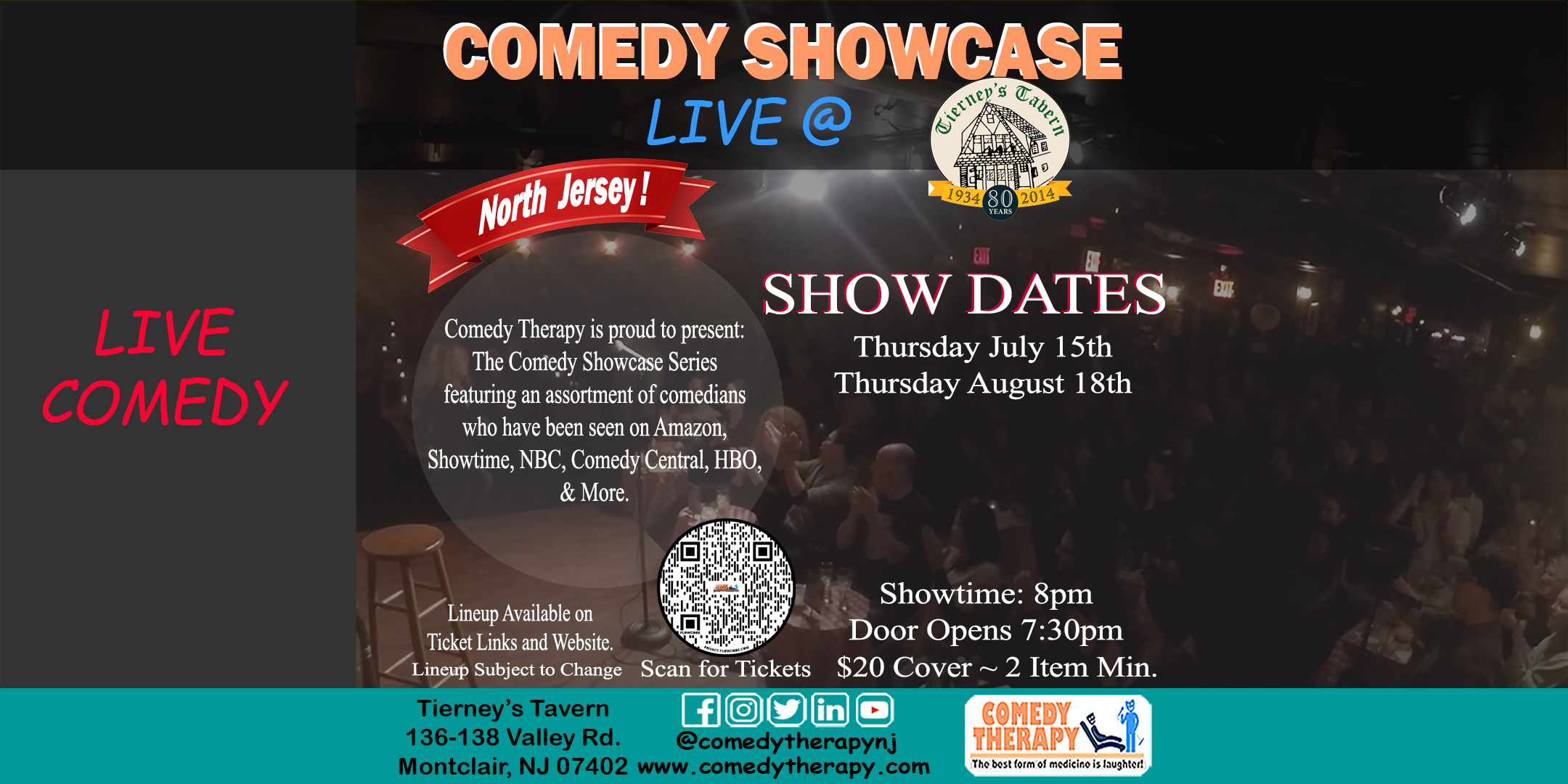Northern Jersey Comedy Showcase