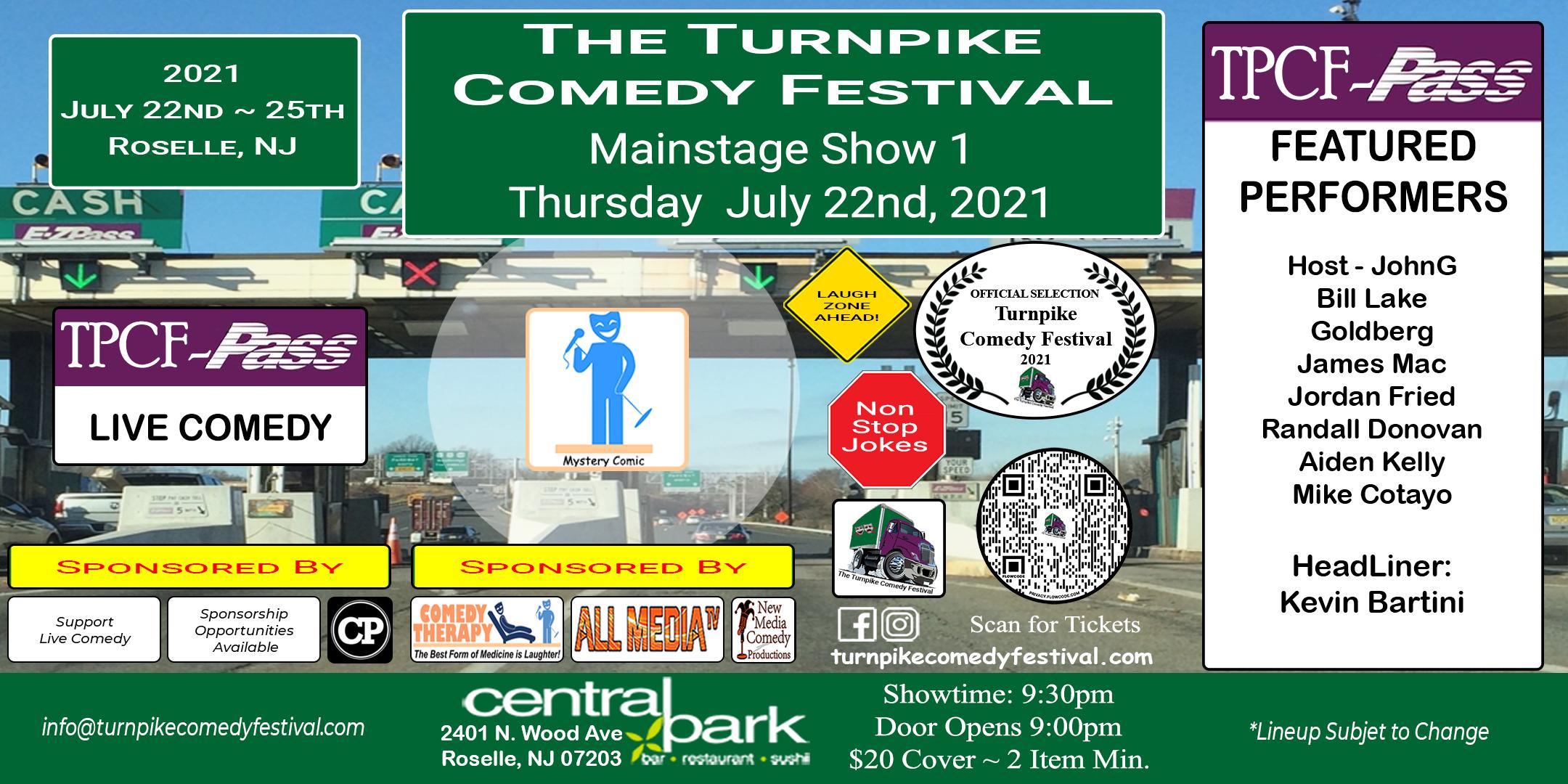 Turnpike Comedy Festival Show 1