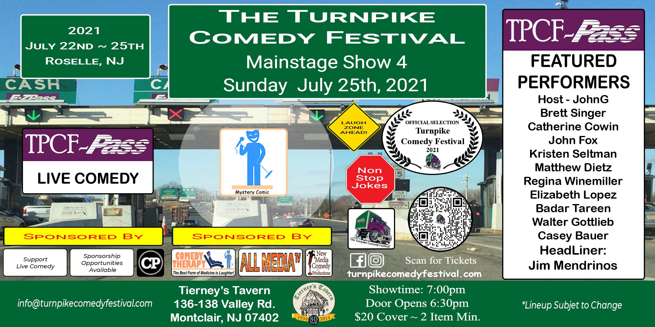 Turnpike Comedy Festival Show 4