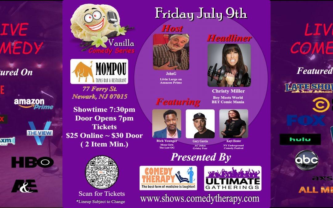 Vanilla Comedy Series @ Mompou Tapas Newark