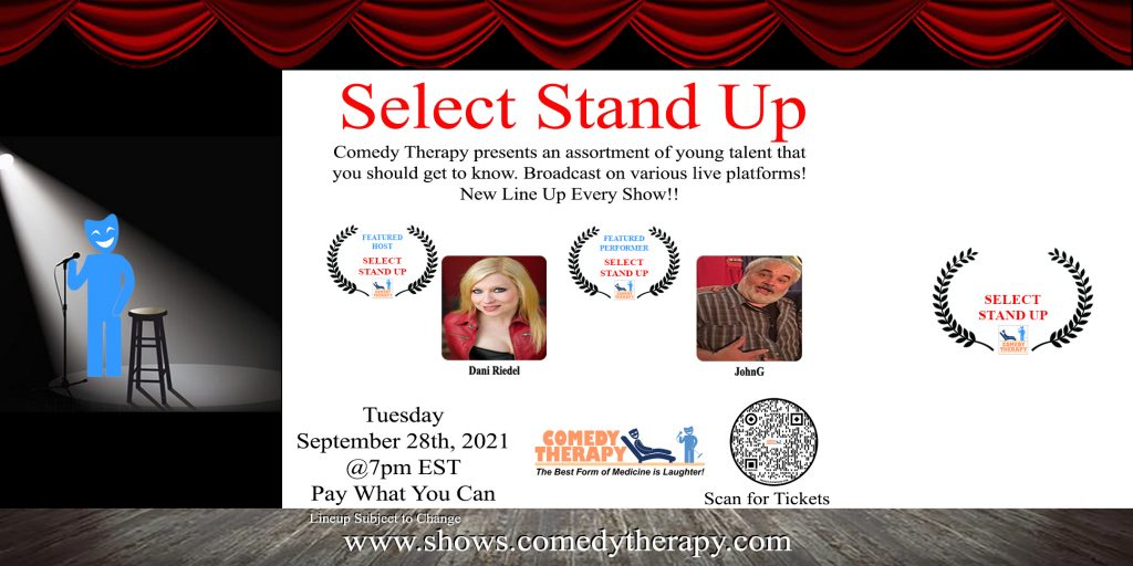 Select Stand Up Sept 28