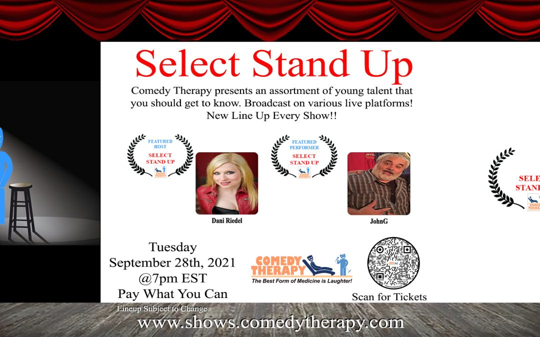 Select Stand Up Zoom Show