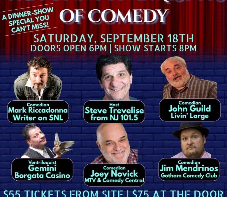 Steve Trevelise & The Funny 5 Misfits of Comedy – Flemington Elks